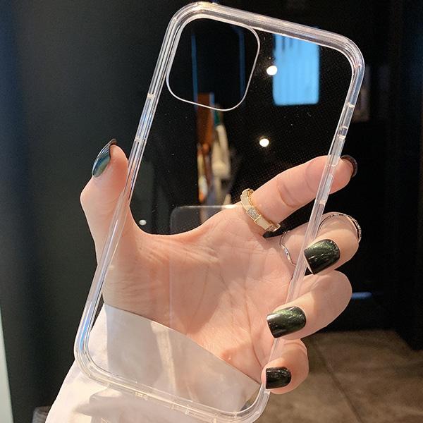 (수입) 변색방지 아이폰 투명 실리콘케이스#