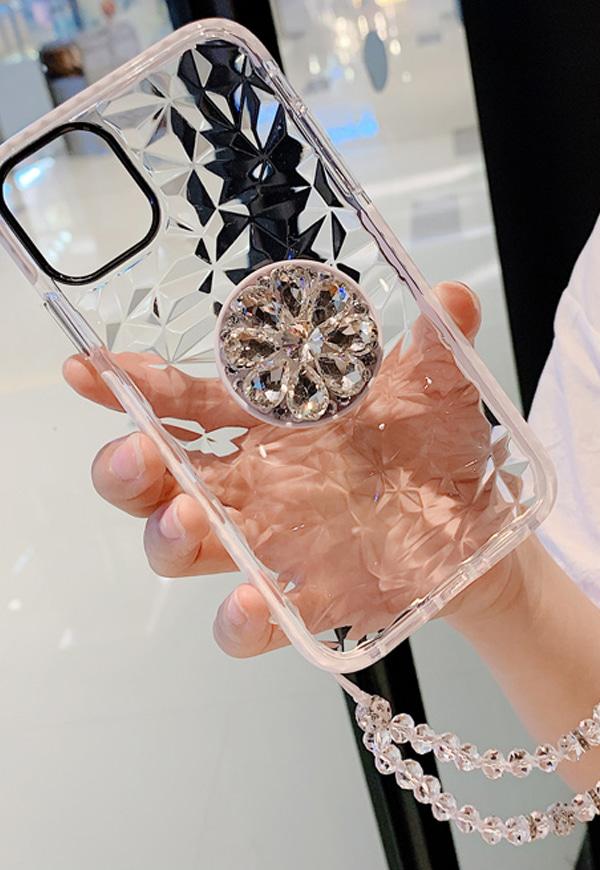 (수입) 방수 다이아몬드 패턴 끈 홀더 케이스#