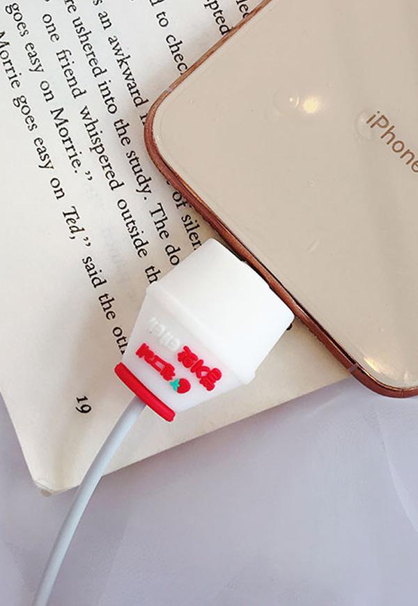 (수입) 각종 귀여운 디자인 케이블 보호캡#
