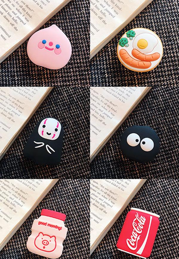 (수입) 귀여운 여러종류 디자인 그립톡#